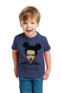 Camiseta Infantil Dr House: Mouse - Nerd e Geek - Presentes Criativos