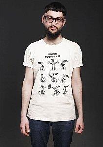 Camiseta Masculina  Pica Pau - Nerd e Geek - Presentes Criativos