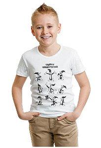 Camiseta Infantil Pica Pau - Nerd e Geek - Presentes Criativos