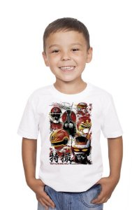 Camiseta Infantil Jaspion - Nerd e Geek - Presentes Criativos