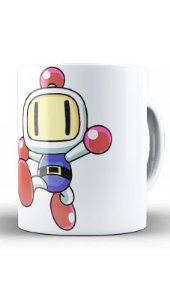 Caneca Bomberman - Nerd e Geek - Presentes Criativos
