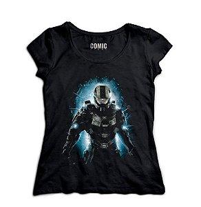 Camiseta Feminina Halo - Nerd e Geek - Presentes Criativos