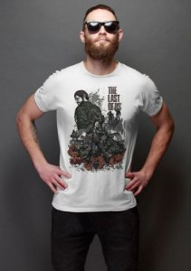 Camiseta Masculina  The Last Of Us - Nerd e Geek - Presentes Criativos