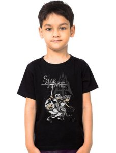 Camiseta Infantil Star Time - Nerd e Geek - Presentes Criativos