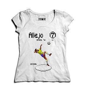 Camiseta Feminina AlleJo  - Nerd e Geek - Presentes Criativos