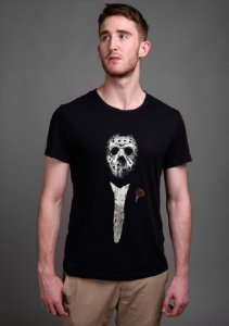 Camiseta Masculina  Jason The Godfather - Nerd e Geek - Presentes Criativos