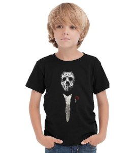 Camiseta Infantil Jason The Godfather  - Nerd e Geek - Presentes Criativos