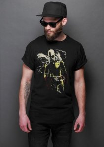Camiseta Masculina  One Punch-Man - Nerd e Geek - Presentes Criativos