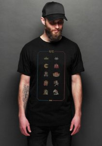 Camiseta Masculina  Retro Games - Nerd e Geek - Presentes Criativos