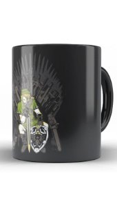 Caneca  Legend of Zelda Thrones - Nerd e Geek - Presentes Criativos
