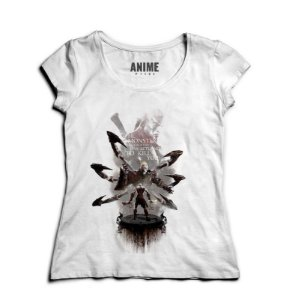 Camiseta Feminina God of War - Nerd e Geek - Presentes Criativos