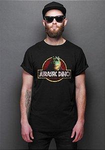 Camiseta Masculina  Jurassic Dino - Nerd e Geek - Presentes Criativos
