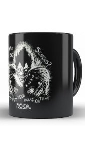 Caneca Anime Death Note Ryuk x Joker - Nerd e Geek - Presentes Criativos