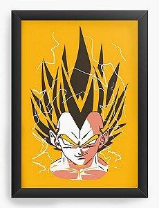 Quadro  Decorativo Anime Dragon Ball Vegeta Y