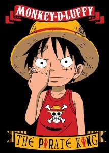 Camiseta Anime One Piece Monkey D. Luffy
