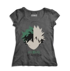 Camiseta  Feminina Anime Boku no Hero Academia