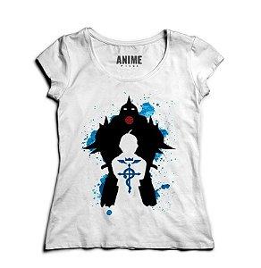 Camiseta  Feminina Anime   Epic Fullmetal Alchemist - Nerd e Geek - Presentes Criativos