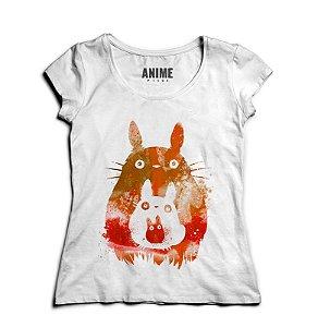 Camiseta  Feminina Anime Totoro and Mini Totoros