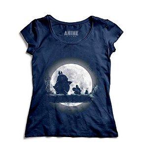 Camiseta  Feminina Anime Totoro Hakuna Matata - Nerd e Geek - Presentes Criativos