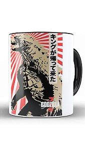 Caneca Godzilla - Nerd e Geek - Presentes Criativos