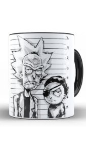 Caneca Rick and Morty - Nerd e Geek - Presentes Criativos