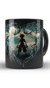 Caneca Kingdom Hearts - Hunter of Darkness - Nerd e Geek - Presentes Criativos