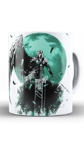Caneca Final Fantasy VII - Final Battle - Nerd e Geek - Presentes Criativos
