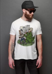 Camiseta Masculina  Big in Japan - Nerd e Geek - Presentes Criativos