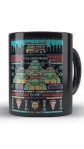 Caneca Tartarugas - Nerd e Geek - Presentes Criativos