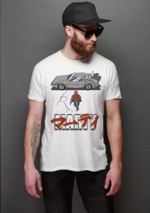 Camiseta Masculina  Marty - Nerd e Geek - Presentes Criativos