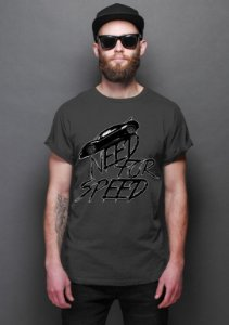 Camiseta Masculina  Need for Speed - Nerd e Geek - Presentes Criativos
