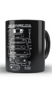 Caneca Super Entertainment - Nerd e Geek - Presentes Criativos