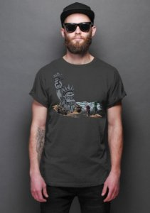 Camiseta Masculina   The Planet of the Kong - Nerd e Geek - Presentes Criativos