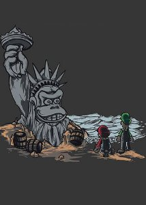 Camiseta  The Planet of the Kong