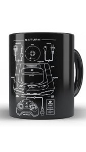 Caneca Saturn - Nerd e Geek - Presentes Criativos