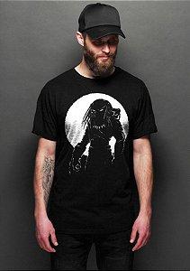 Camiseta Masculina  Predador - Nerd e Geek - Presentes Criativos