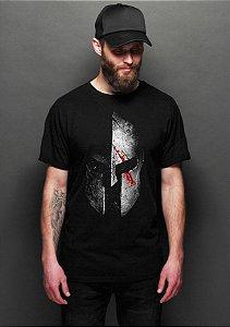 Camiseta Masculina  Spartan - Nerd e Geek - Presentes Criativos