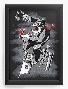 Quadro Decorativo A4 (33X24) The 8th Wonder - Nerd e Geek - Presentes Criativos