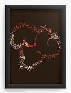 Quadro Decorativo A4 (33X24) DK - Nerd e Geek - Presentes Criativos