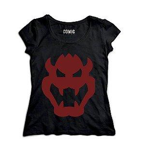 Camiseta Feminina Demon - Nerd e Geek - Presentes Criativos