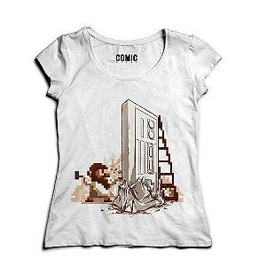 Camiseta Feminina Reenaissance   - Nerd e Geek - Presentes Criativos