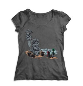 Camiseta Feminina The Planet of the Kong - Nerd e Geek - Presentes Criativos