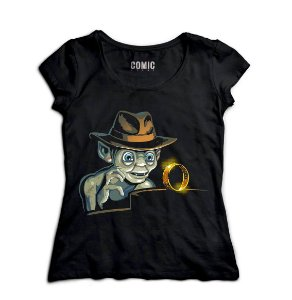 Camiseta Feminina Jones - Nerd e Geek - Presentes Criativos