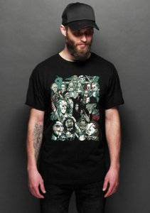 Camiseta Masculina  Reunion - Nerd e Geek - Presentes Criativos