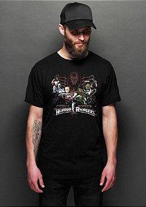 Camiseta Masculina  Rangers - Nerd e Geek - Presentes Criativos