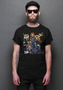 Camiseta Masculina Cats - Nerd e Geek - Presentes Criativos