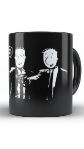 Caneca Doug Fiction - Nerd e Geek - Presentes Criativos