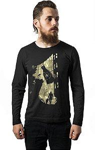 Camiseta Masculina Life After Nerd e Geek - Presentes Criativos