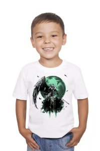Camiseta Infantil Adventure Final Fantasy VII - Final Battle Nerd e Geek - Presentes Criativos