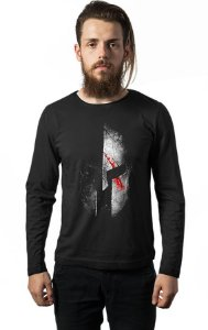 Camiseta Masculina Manga Longa Spartan Nerd e Geek - Presentes Criativos
